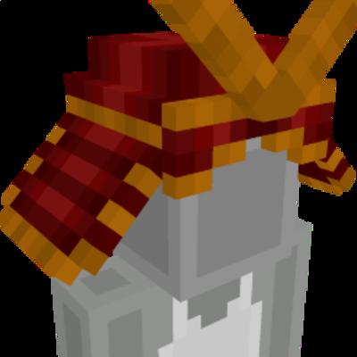 Samurai Helmet on the Minecraft Marketplace by Netherpixel