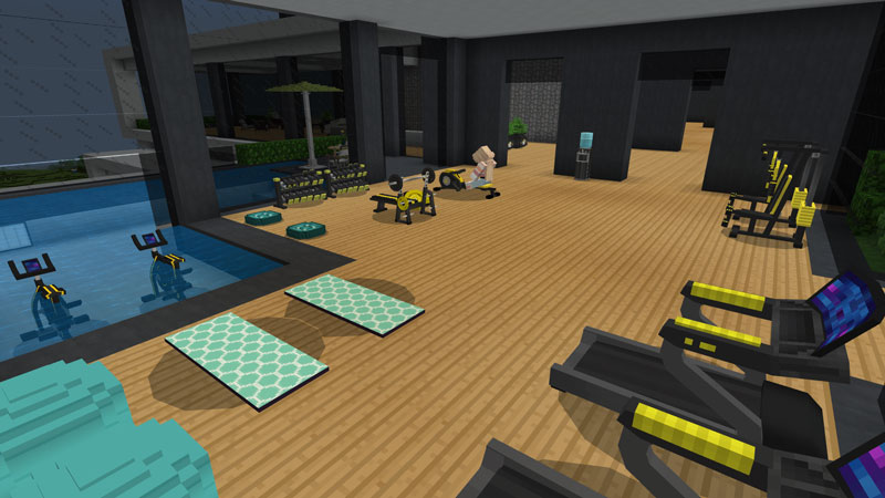 Deluxe Furniture: Modern on the Minecraft Marketplace by Blockception