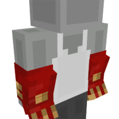 Red Dragon Gloves on the Minecraft Marketplace by Mythicus