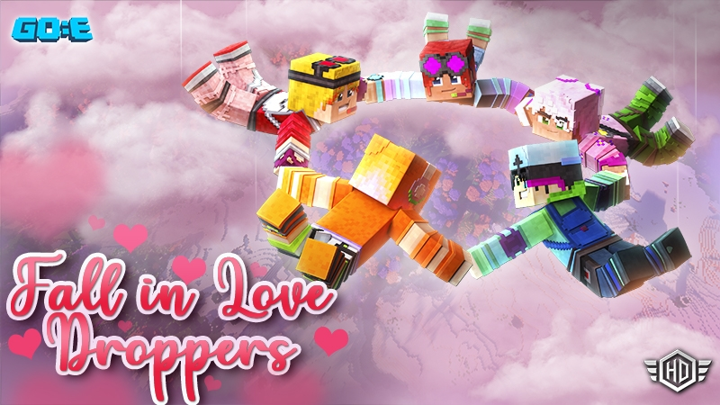 Fall in Love Droppers on the Minecraft Marketplace by GoE-Craft
