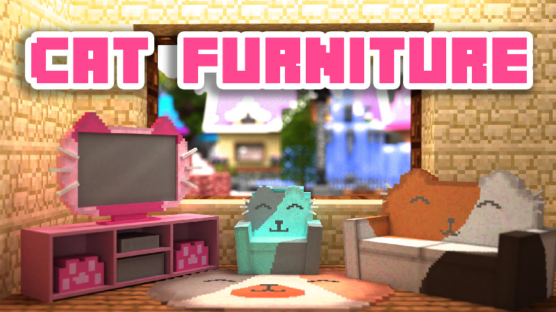 Cat Furniture on the Minecraft Marketplace by 4KS Studios