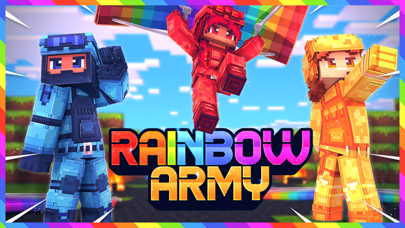 Rainbow Army on the Minecraft Marketplace by Norvale