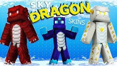 Sky Dragon Skins on the Minecraft Marketplace by The Lucky Petals