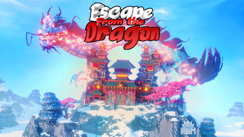 Escape From the Dragon on the Minecraft Marketplace by IriumBT