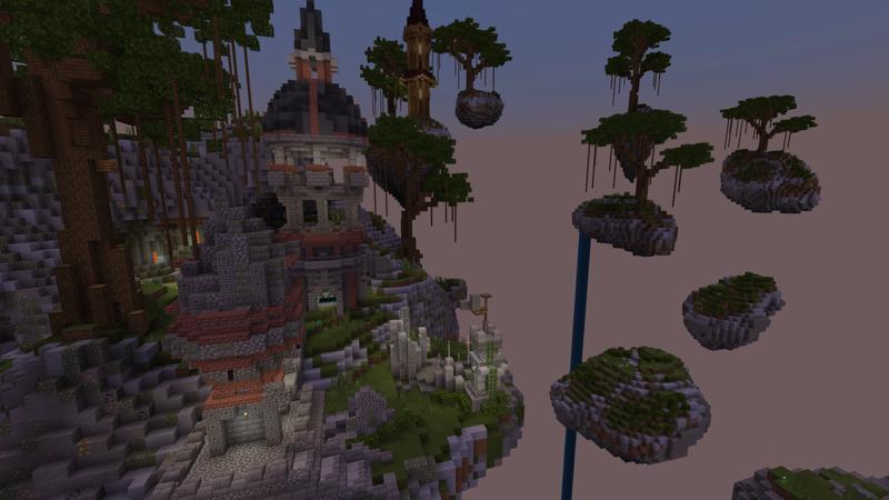 Skyblock Skye Town by Waypoint Studios