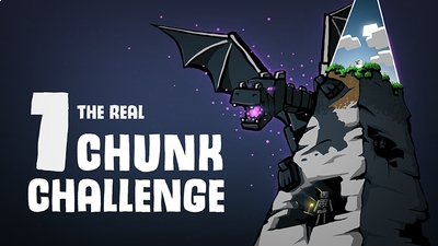1 Chunk challenge on the Minecraft Marketplace by Glowfischdesigns