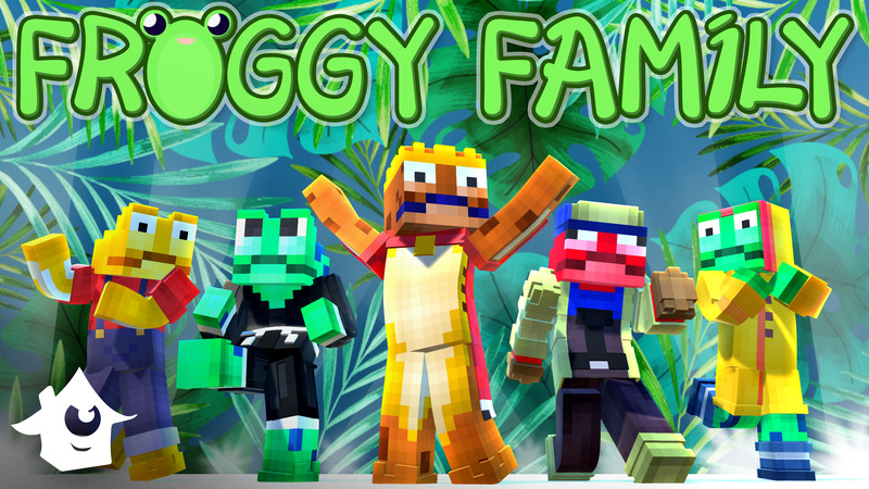 Froggy Family on the Minecraft Marketplace by House of How