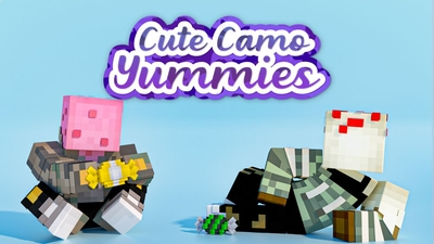 Cute Camo Yummies on the Minecraft Marketplace by Impulse
