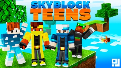 Skyblock Teens on the Minecraft Marketplace by inPixel