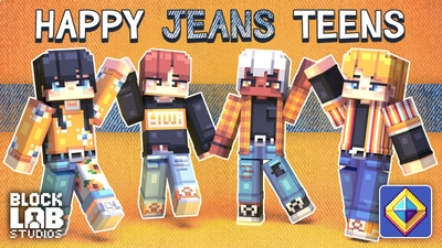 Happy Jeans Teens on the Minecraft Marketplace by BLOCKLAB Studios