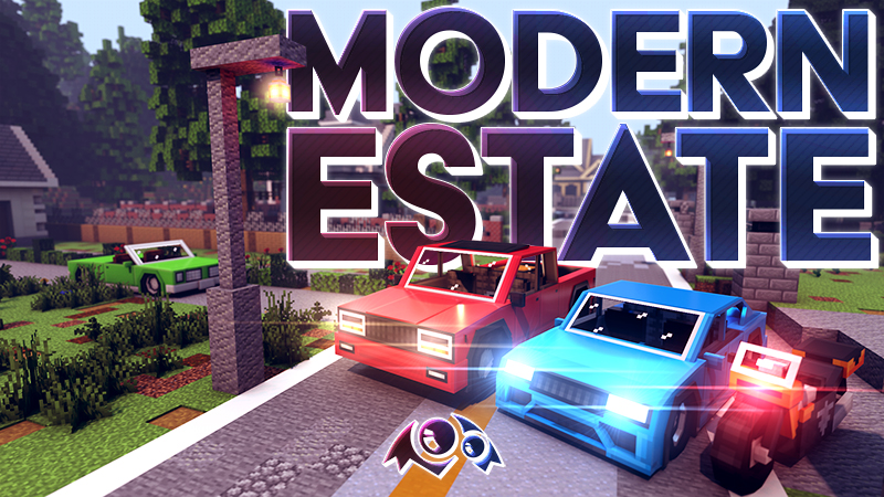 Modern Estate on the Minecraft Marketplace by Monster Egg Studios