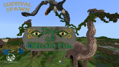 Isle Of Dinotopia on the Minecraft Marketplace by Team Phoenix Studio