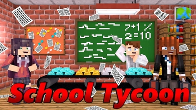 School Tycoon on the Minecraft Marketplace by Doctor Benx