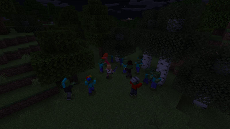 Friendly Zombies on the Minecraft Marketplace by BLOCKLAB Studios