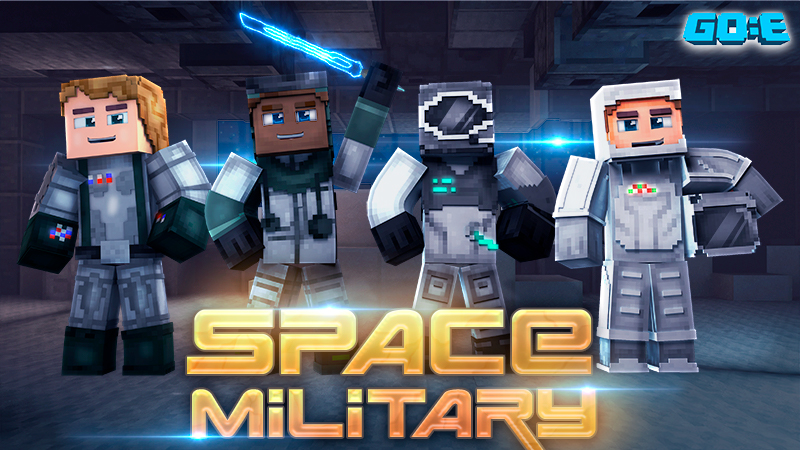 Space Military on the Minecraft Marketplace by GoE-Craft