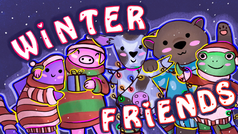 Winter Friends on the Minecraft Marketplace by Owls Cubed