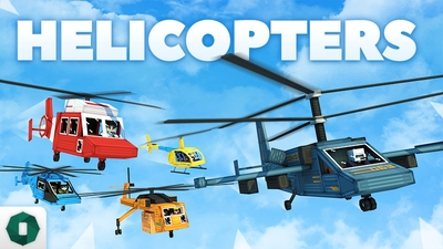 Helicopters on the Minecraft Marketplace by Octovon
