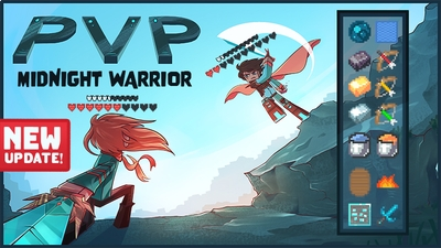 PVP Midnight Warrior on the Minecraft Marketplace by Tetrascape