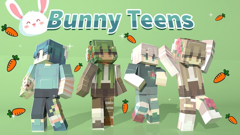 Bunny Teens on the Minecraft Marketplace by Nitric Concepts