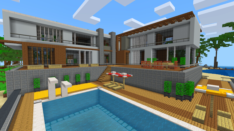 Modern Beach House by Kreatik Studios