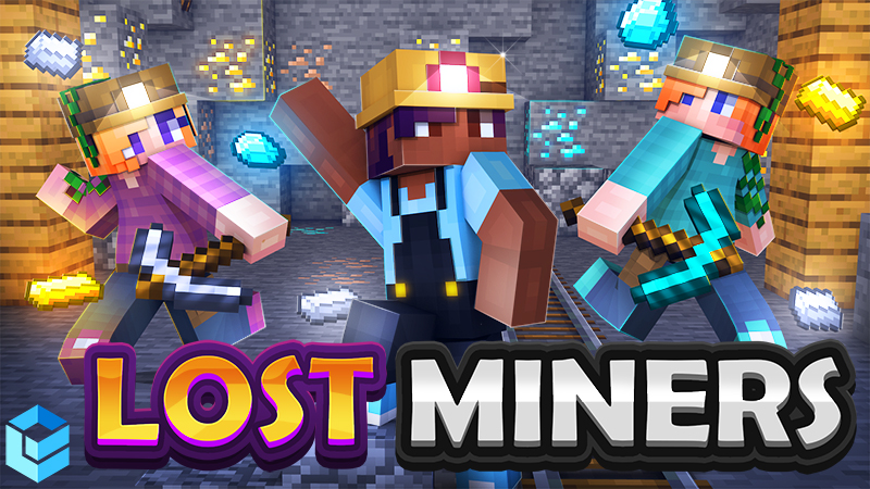 Lost Miners on the Minecraft Marketplace by Entity Builds