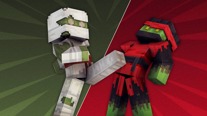 Ninja Zombies on the Minecraft Marketplace by 57Digital