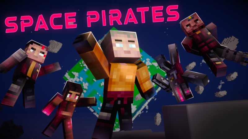 Space Pirates  on the Minecraft Marketplace by Sapphire Studios