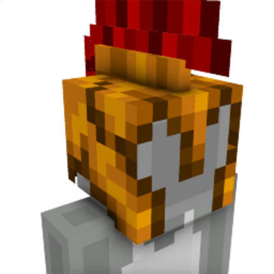 Gladiator Roman Helmet on the Minecraft Marketplace by UnderBlocks Studios