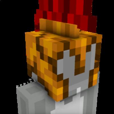 Gladiator Roman Helmet on the Minecraft Marketplace by UnderBlocks Studios