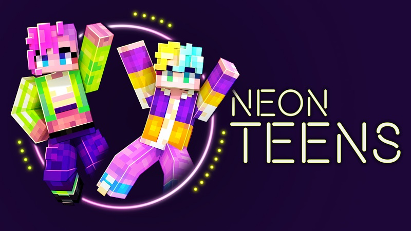 Neon Teens on the Minecraft Marketplace by BBB Studios