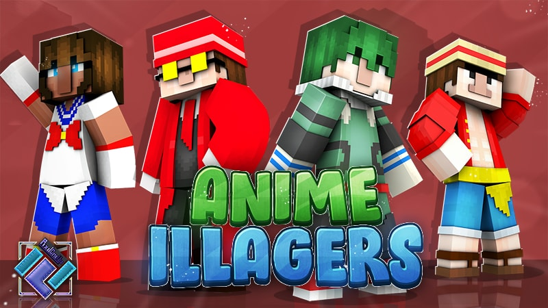 Anime Illagers on the Minecraft Marketplace by PixelOneUp