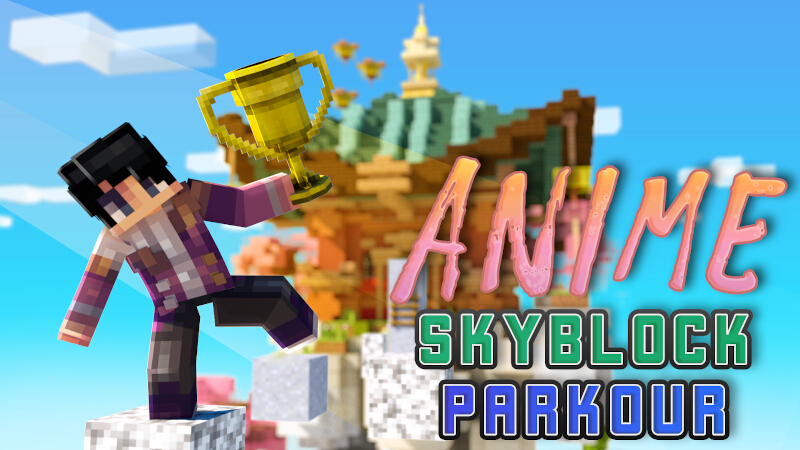 Anime Skyblock Parkour on the Minecraft Marketplace by Kreatik Studios