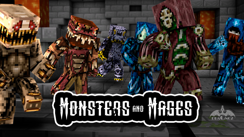 Monsters And Mages on the Minecraft Marketplace by Dragnoz