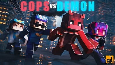 Cops Vs Demons on the Minecraft Marketplace by Block Factory