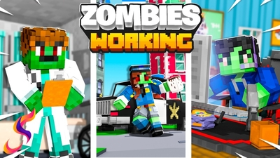 Zombies Working on the Minecraft Marketplace by Fall Studios