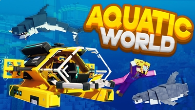 Aquatic World on the Minecraft Marketplace by HorizonBlocks