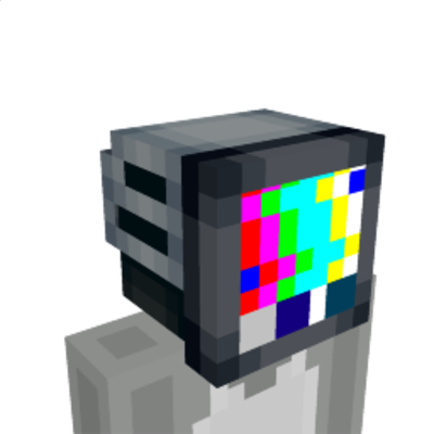 Television Helmet on the Minecraft Marketplace by Razzleberries