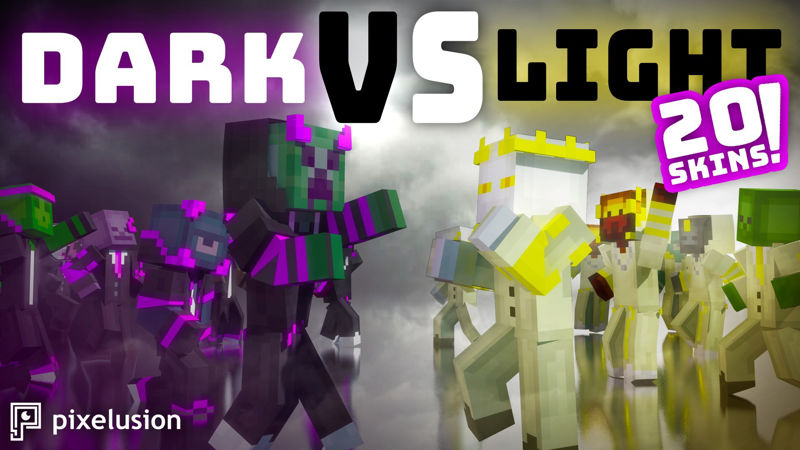 Dark VS Light Mobs on the Minecraft Marketplace by Pixelusion