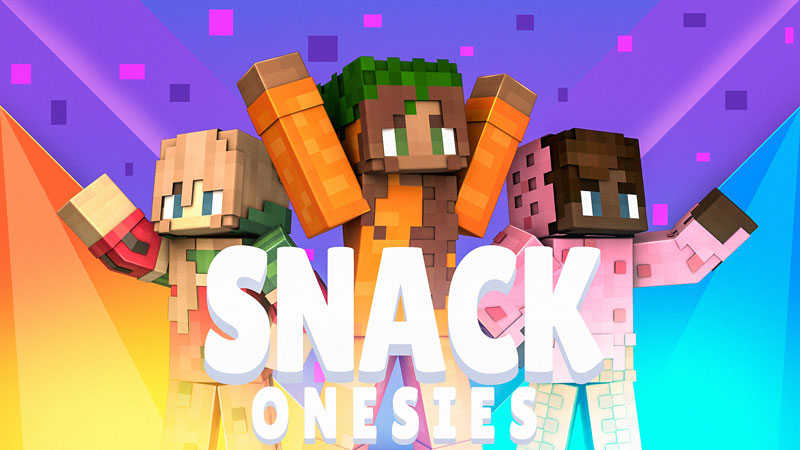Snack Onesies on the Minecraft Marketplace by Blockception