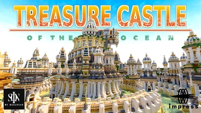 TREASURE CASTLE OF THE OCEAN on the Minecraft Marketplace by Impress