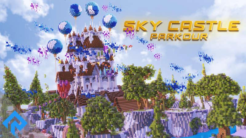 Sky Castle  Parkour on the Minecraft Marketplace by RareLoot