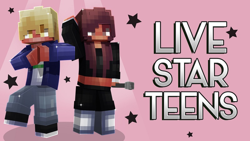 Live Star Teens on the Minecraft Marketplace by Nitric Concepts