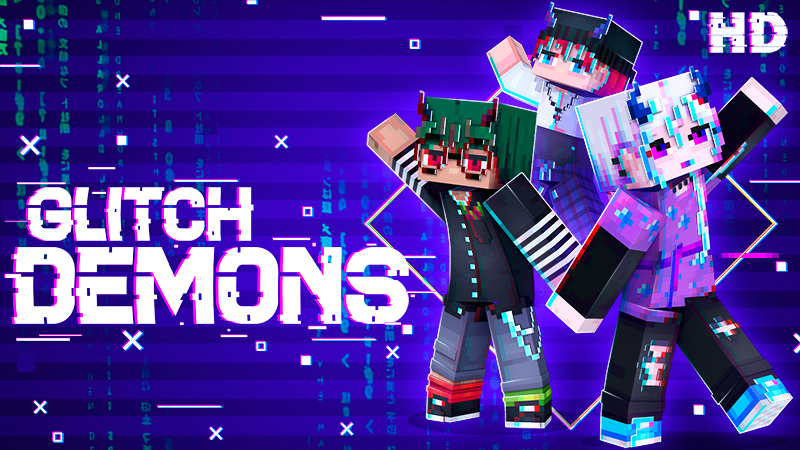 Glitch Demons HD on the Minecraft Marketplace by Ninja Squirrel Gaming