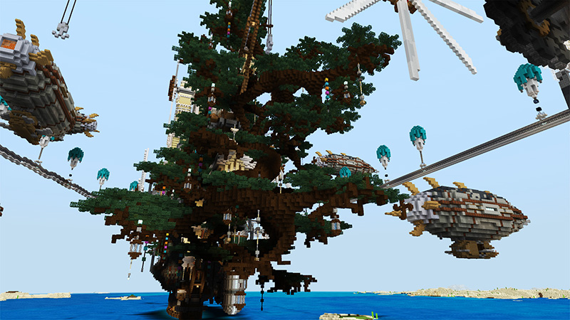 Steampunk City on the Minecraft Marketplace by Shaliquinn's Schematics