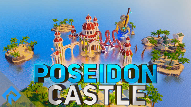 Poseidon Castle on the Minecraft Marketplace by RareLoot