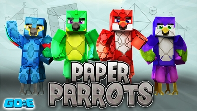 Paper Parrots on the Minecraft Marketplace by GoE-Craft