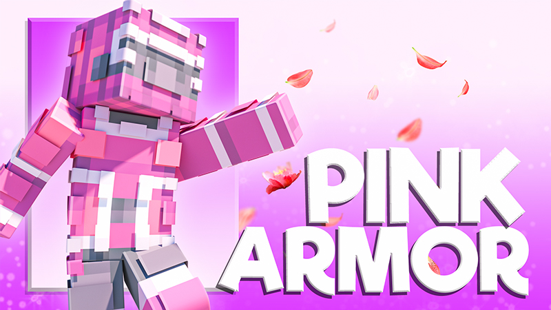 Pink Armor on the Minecraft Marketplace by 4KS Studios