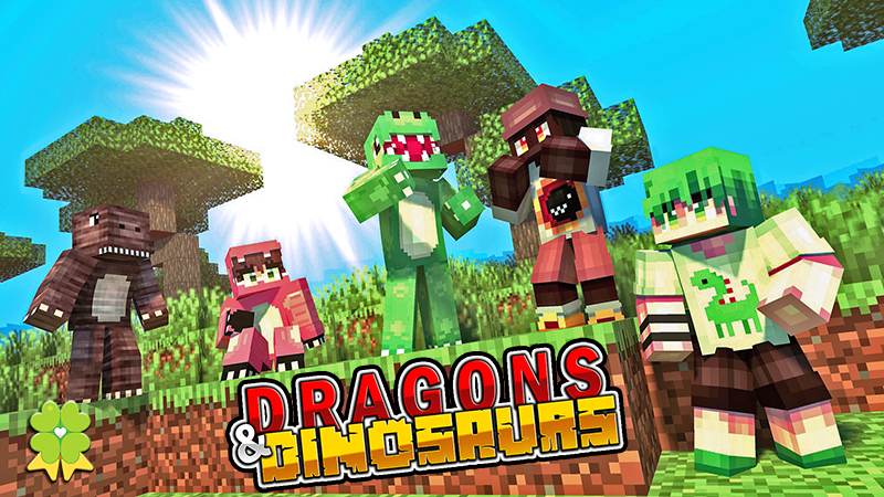 Dragons  Dinosaurs on the Minecraft Marketplace by The Lucky Petals