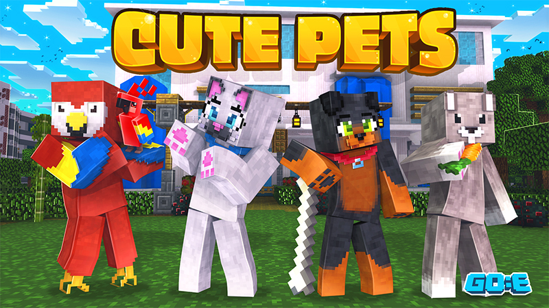 Cute Pets on the Minecraft Marketplace by GoE-Craft