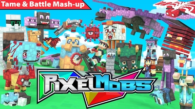 Pixelmobs Mashup on the Minecraft Marketplace by Pixels & Blocks